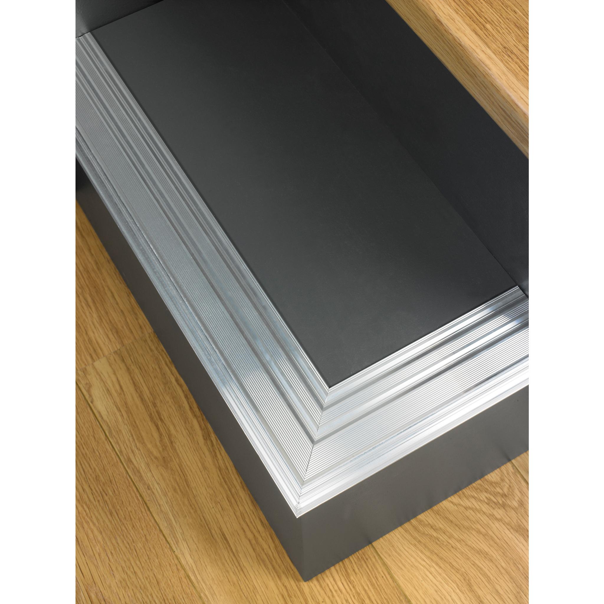 Engineered Oak Flooring Magnet: Incizo Aluminium Stair Base For 7mm Flooring