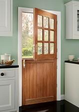 9 Pane Stable Preglazed External Door 1981 X 838mm