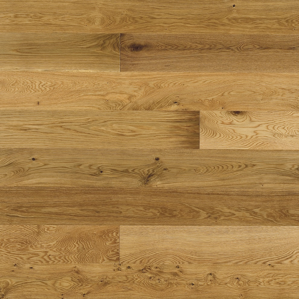 22mm Oak Rustic Brushed Amp Oiled Engineered Flooring