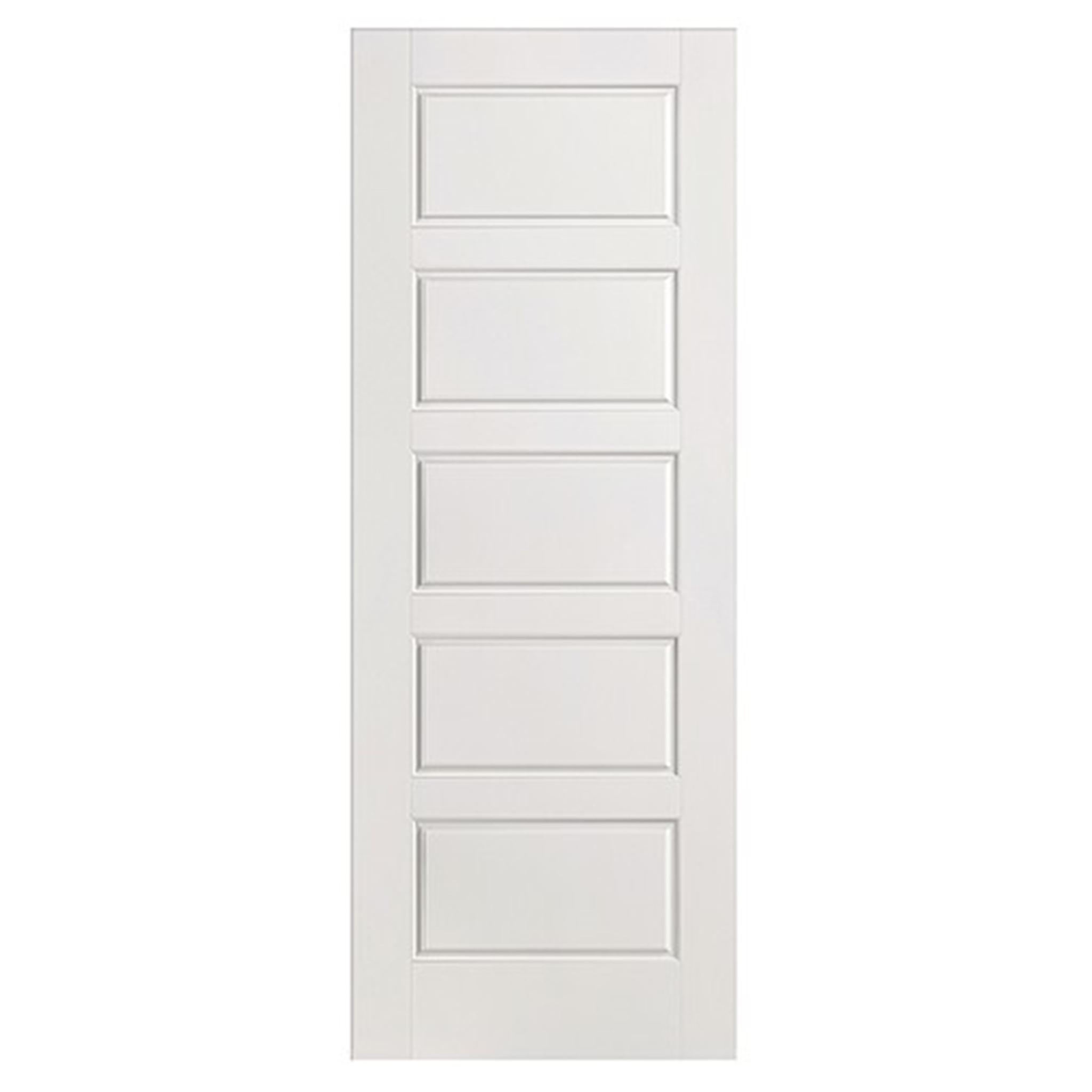 5 panel smooth internal door 2040x726mm for Door 2040 x 726